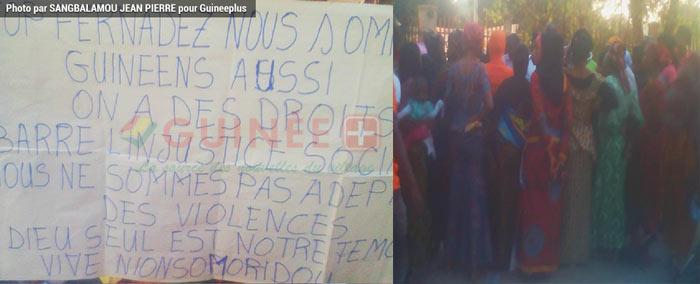Beyla : Greve de Faim des Femmes de la Sous-préfecture de Nionsomoridou