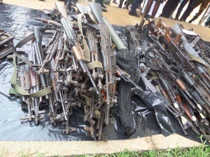 Guinée : saisie d'importante quantité d'armes à la frontière avec la Côte d'Ivoire