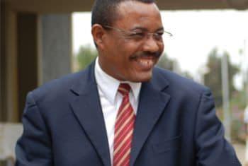 Son Excellence Hailemariam Desalegn Boshe, Premier ministre de la République fédérale démocratique d'Ethiopie