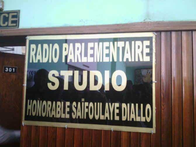 Assemblée nationale : La première radio parlementaire lancée en Guinée