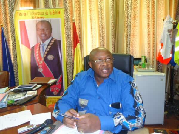 Le Directeur Mamadouba SANKON