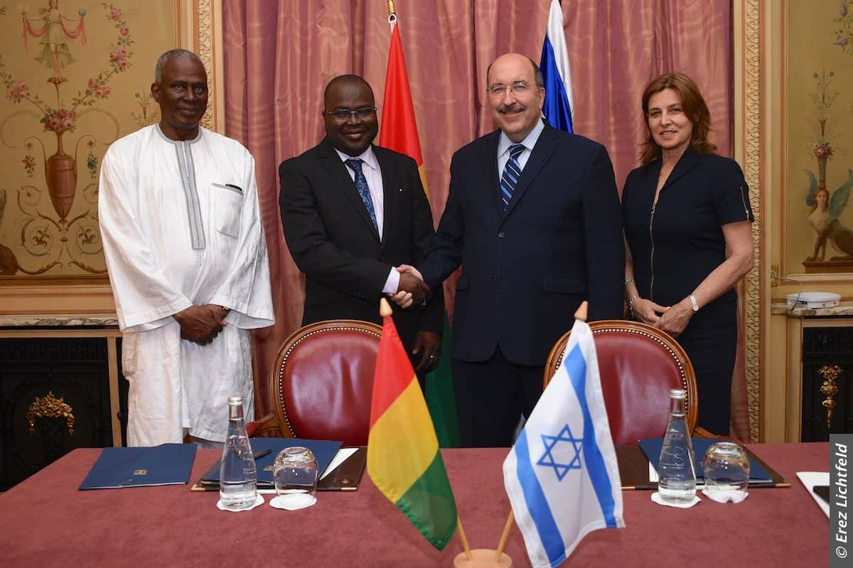 REPUBLIQUE DE GUINEE ET L'ETAT D'ISRAEL