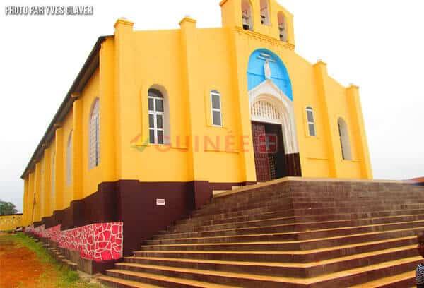 la Cathedrale de N'zérékoré