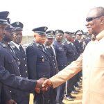 Assemblée Nationale: Des officiers de la gendarmerie nationale s'imprègnent de ses missions