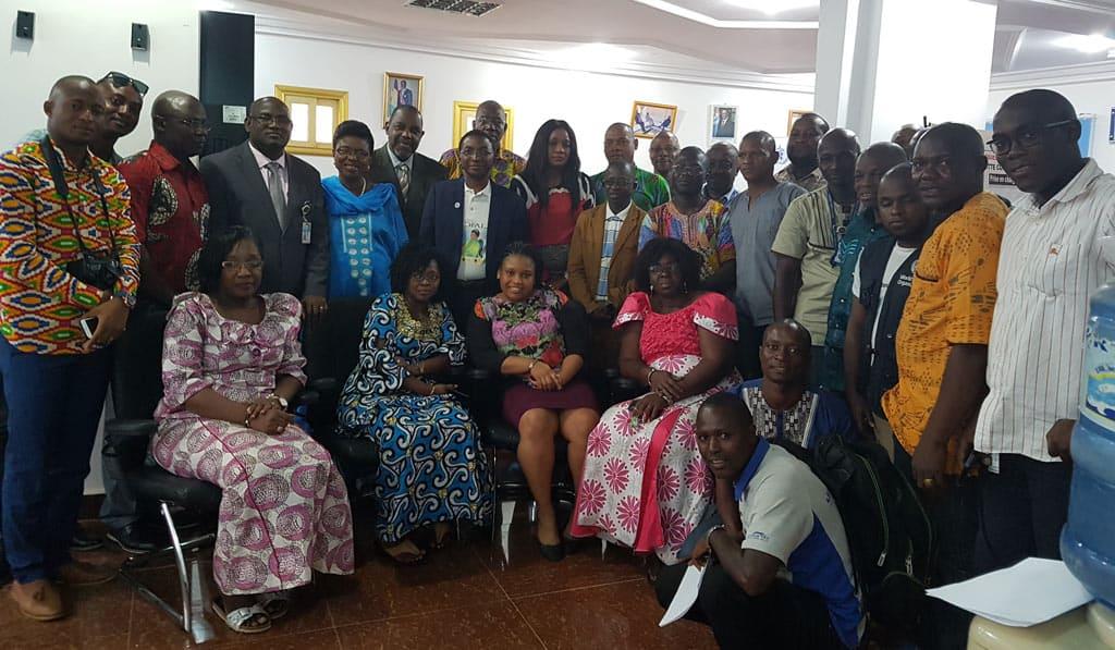 Départ du Dr Adzodo Mawuli René à la retraite : Hommage unanime des collaborateurs