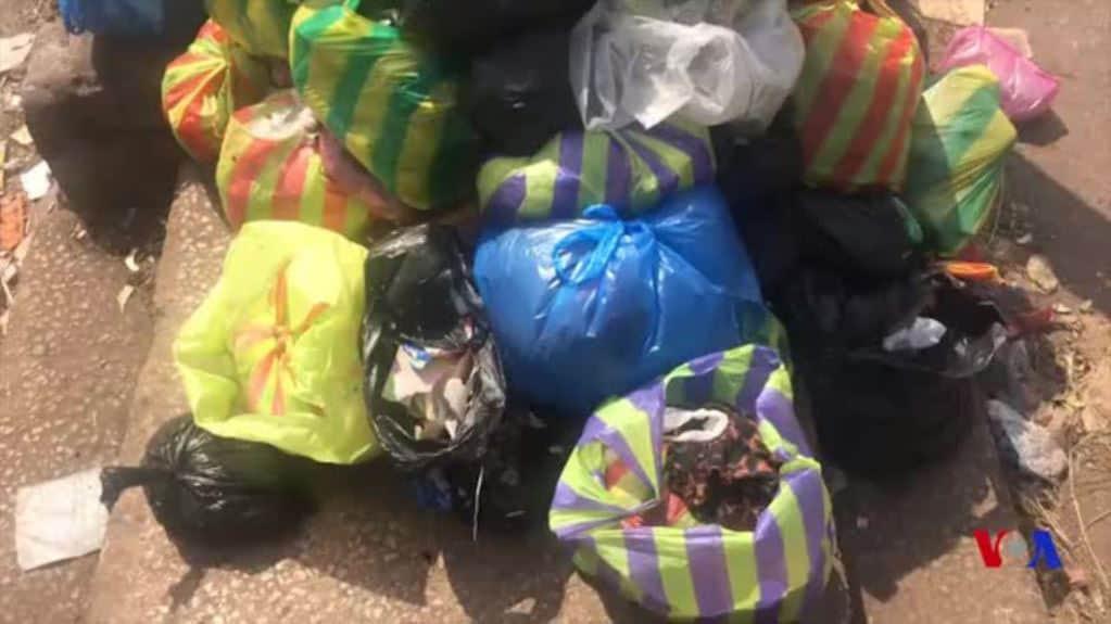 La Guinée veut se débarrasser de ses sacs plastiques