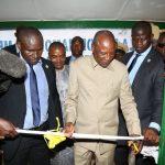 Mamou: Le Président Condé inaugure la MUFFA et la MC2