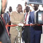 Camp Alpha Yaya Diallo: Le Président Alpha Condé inaugure l'usine militaire