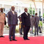 Communiqué: Arrivée du Président Ougandais