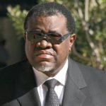 Communiqué: Arrivée du Président Namibien