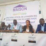 L'organisation dénommée Maison des Associations et ONG de Guinée( MAOG) se dote d'un nouveau siège