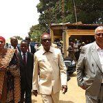 Le Président Alpha Condé à l'hôpital Donka  S'enquérir du niveau d'avancement des travaux