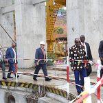Énergies renouvelables : Le Président Condé et les partenaires à Souapiti et Kaléta