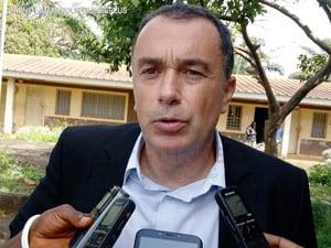 David Bridier, représentant pays de l'ONG Terre Des Hommes à N'Zérékoré
