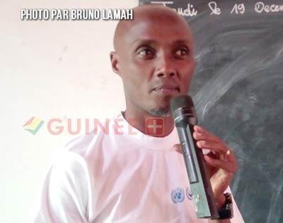 Chanel Kavabhusi chef bureau du haut-commissariat au droit de l'Homme à N'Zérékoré