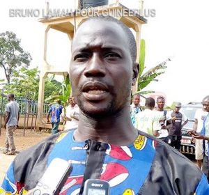 le 1ervice maire de la commune urbaine de N'Zérékoré, Bangaly Bayo
