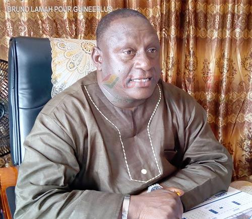 Le maire de la commune urbaine de N'Zérékoré Moriba Albert Delamou