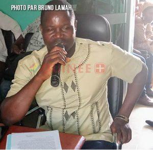 M. Pépé 2 Haba, responsable d'administration