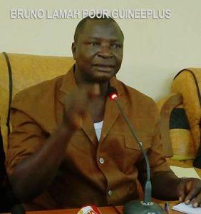 M. Sanoussy Bérété, conseiller technique au ministère de la citoyenneté et de l'Unité Nationale