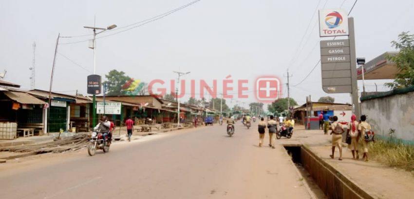 N'Zérékoré : l'Appel à la résistance active et permanente du FNDC partiellement suivi dans la ville !