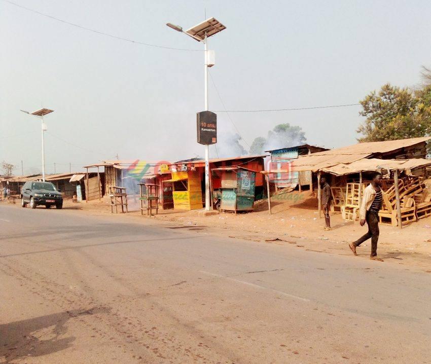 N'Zérékoré : après les échauffourées, la ville a repris son cours normal!