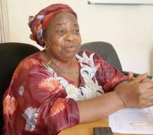 la directrice préfectorale de santé de N'Zérékoré, Dr Sokpo Théoro