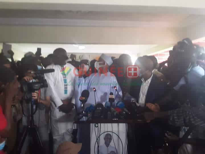 Urgent: Cellou Dalein Diallo se proclame vainqueur du scrutin présidentiel