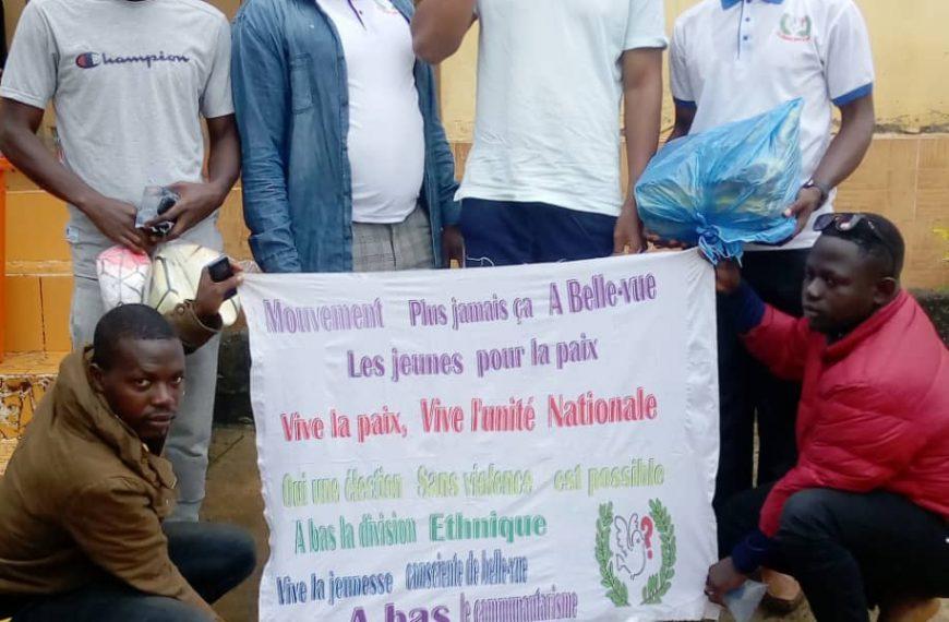 Présidentielle du 18 : le journaliste Foromo Gbouo LAMAH sensibilise les jeunes pour une élection apaisée sans violence dans son quartier!