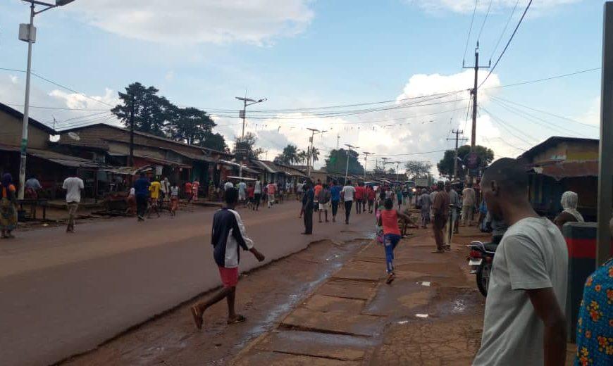N'Zérékoré : échauffourée entre les partisans de Cellou Dalein Diallo et d'Alpha Condé !