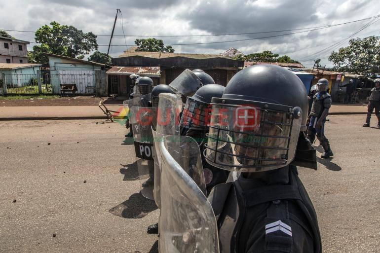 Inquiétude en Guinée / Les gendarmes désormais autorisés à tirer à vue
