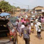 Alpha Condé réélu : Une morosité dans la manifestation des partisans à N'Zérékoré