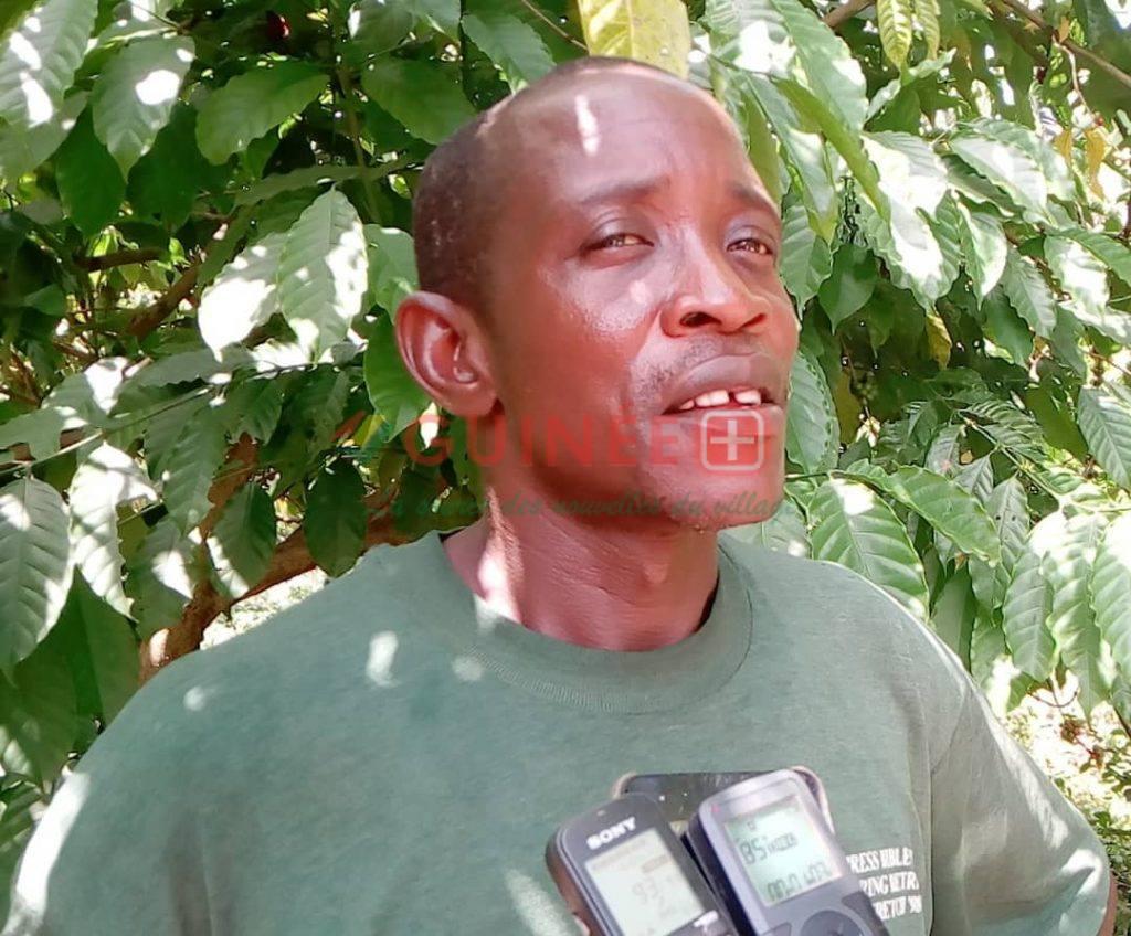 Chef du Village de Zogota, M. Kpakile Gnadawolo