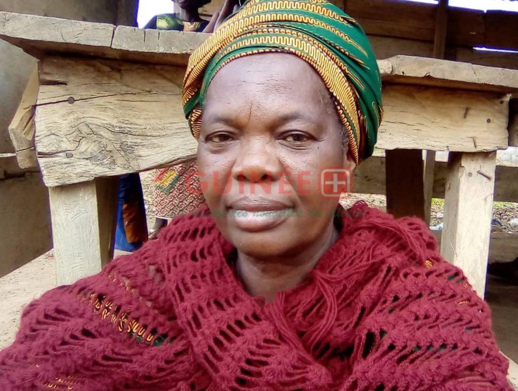 la présidente du conseil de quartier, Mme Marie Veronique Maley