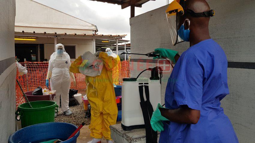 Le « centre épidémique » de Nongo, dans la capitale Conakry, était, en avril dernier, l'endroit où les patients atteints de COVID-19 étaient isolés et soignés. En 2015, nous l'avons construit comme centre de traitement du virus Ebola. On ne sait pas encore si nous l'utiliserons à nouveau pour traiter les patients atteints d'Ebola. © MSF